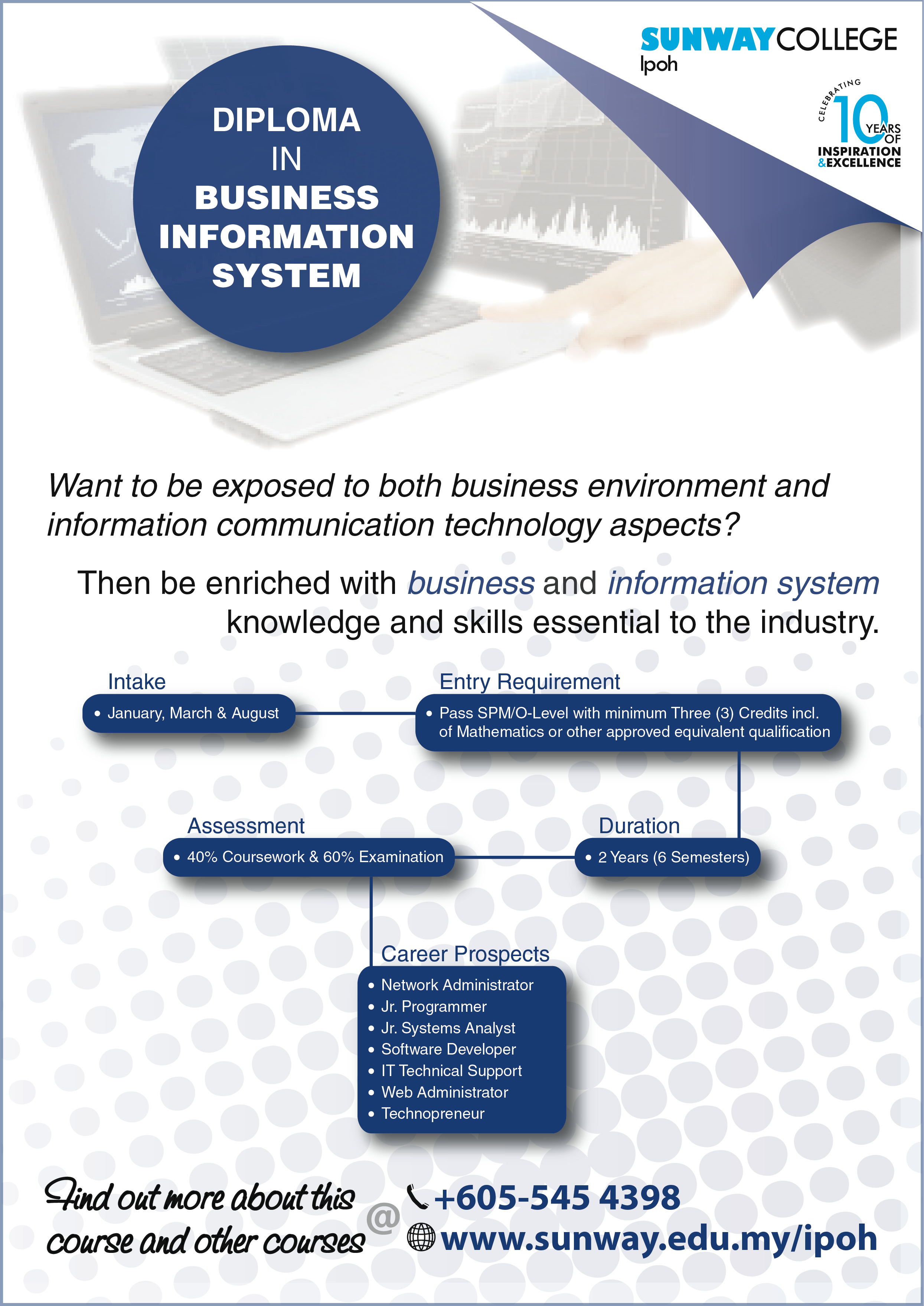 Diploma in Business Information System