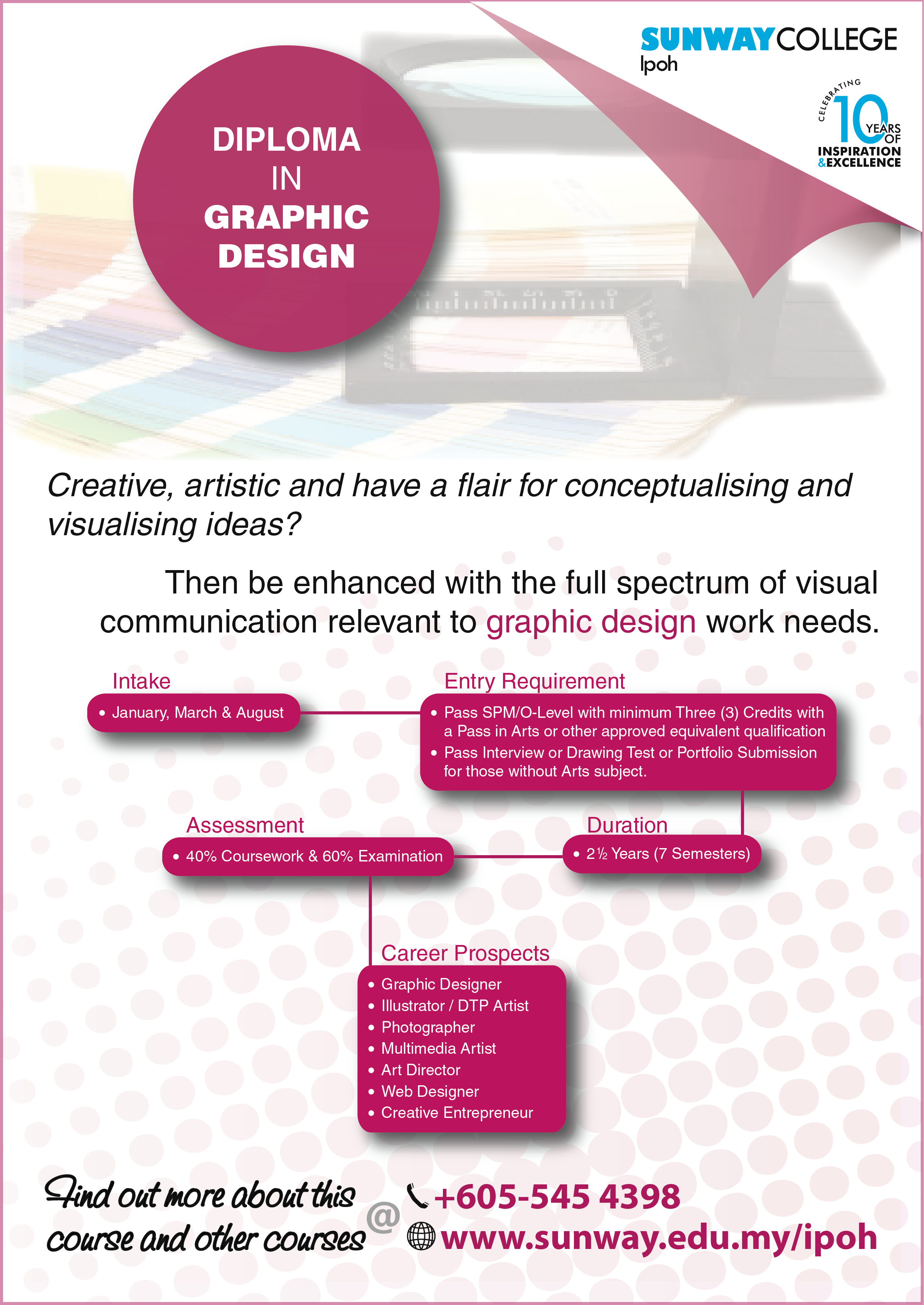 Diploma in Graphic Design
