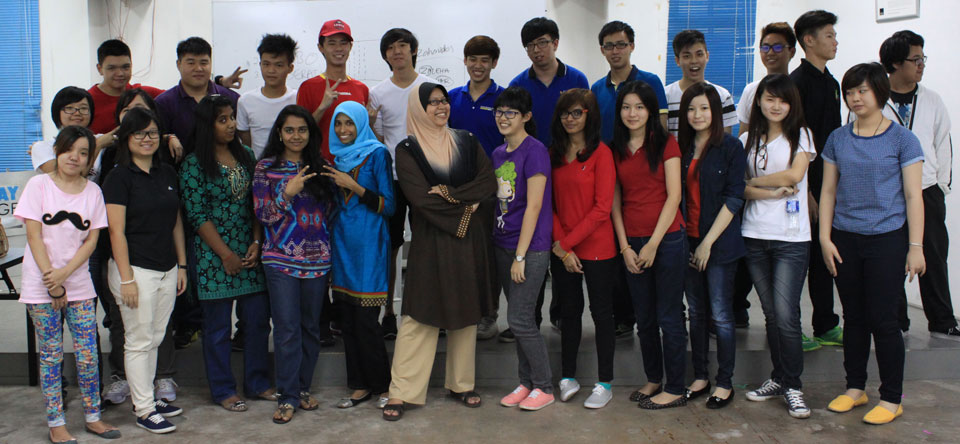 Group Photo with counselor