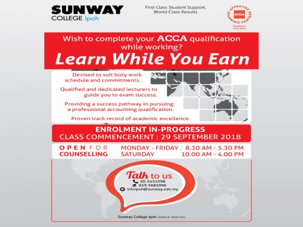 Announcements   Sunway College Ipoh
